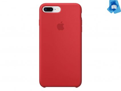 Silikonový kryt na Apple iPhone 7+,8+ Červený