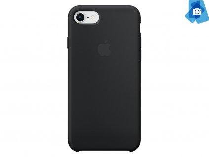 Silikonový kryt na Apple iPhone 7,8 Černý