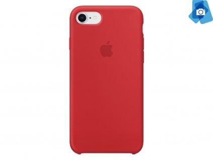 Silikonový kryt na Apple iPhone 7,8 Červený