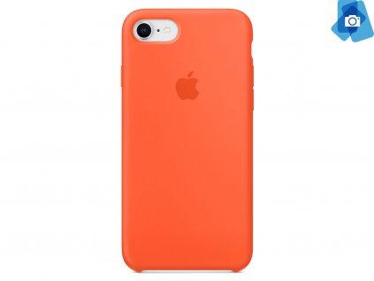 Silikonový kryt na Apple iPhone 7,8 Oranžový