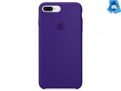 Silikonový kryt na Apple iPhone 7 Plus, 8 Plus Fialový