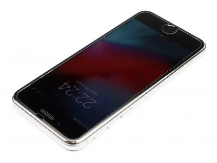 3D Tvrzené sklo s hliníkovým rámečkem na iPhone 6,6s,7,8 Černé