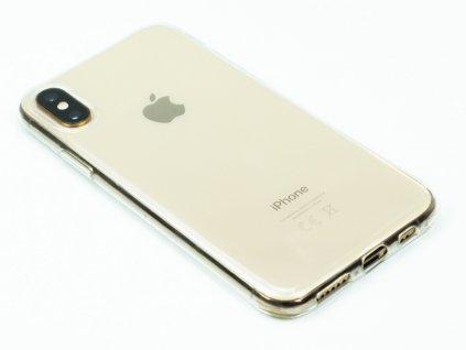 Průhledný Gumový kryt pro iPhone XS Max