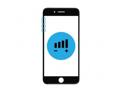 Výměna tlačítek hlasitosti a vibrací iPhone 8 Plus
