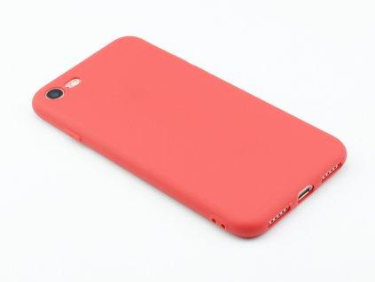 TPU Gumový kryt pro iPhone 7,8 Červený