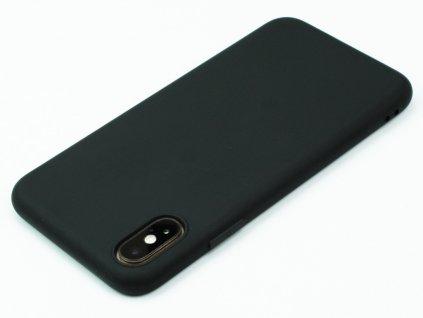TPU Gumový kryt pro iPhone X,XS Černý