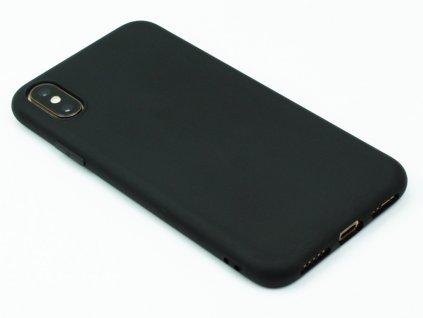 TPU Gumový kryt pro iPhone XS Max - Černý