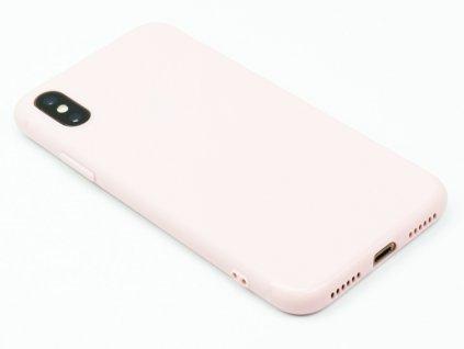 TPU Gumový kryt pro iPhone X,XS Růžový