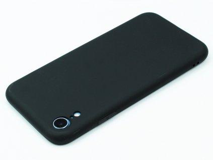 TPU Gumový kryt pro iPhone XR Černý