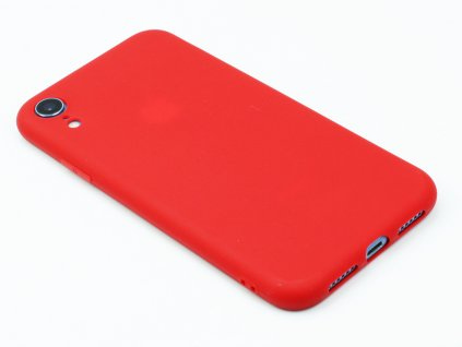 TPU Gumový kryt pro iPhone XR Červený