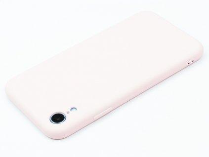 TPU Gumový kryt pro iPhone XR Růžový
