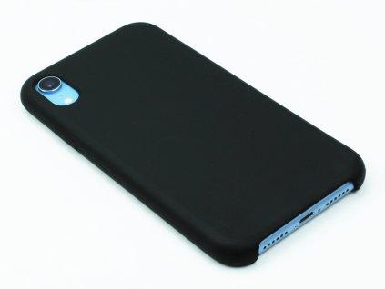 Silikonový kryt na iPhone XR Černý