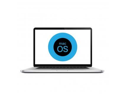 Přehrání softwaru Macbook
