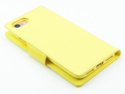 Mercury, Sonata Diary Yellow ochranný kryt pro iPhone 7,8 Žlutý