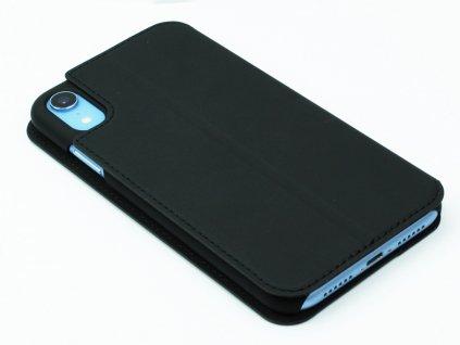 Pouzdro typu kniha CELLY Prestige pro Apple iPhone XR, PU kůže, černé