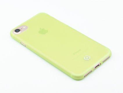 Ultra tenké TPU pouzdro CELLY Frost pro Apple iPhone 7,8, 0,29 mm, zelené