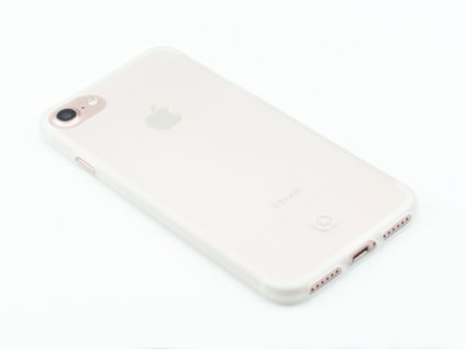 Ultra tenké TPU pouzdro CELLY Frost pro Apple iPhone 7, iPhone 8, 0,29 mm, bílé