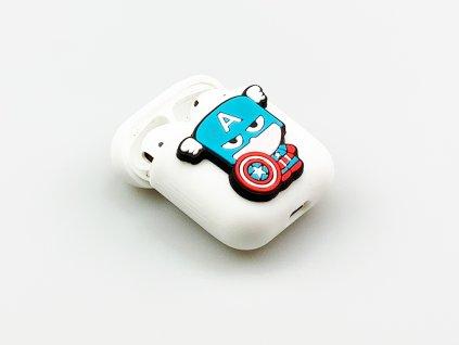 Obal pro Apple AirPods s motivem Captain America