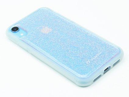 Adhezivní zadní kryt Cellularline SELFIE CASE pro Apple iPhone XR Transparentní