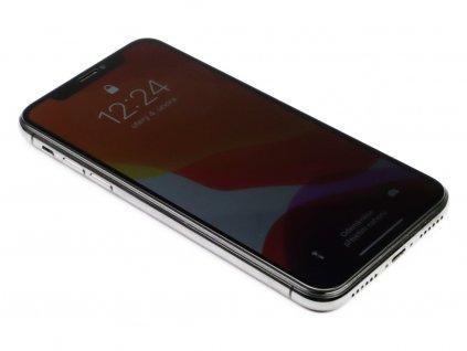 Soukromé 3D Tvrzené sklo pro iPhone XR PREMIUM - Černé