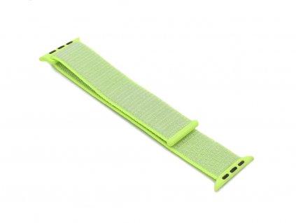 Látkový řemínek na Apple Watch Zelený