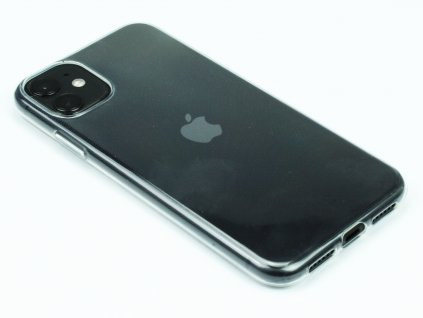 Gumový obal na iPhone 11 Průhledný 1