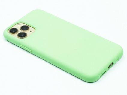 Silikonový kryt na iPhone 11 Pro Zelený 1