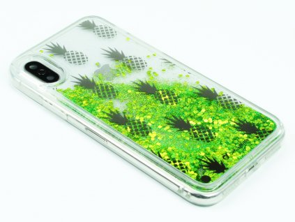 Gelové pouzdro Stardust pro iPhone X,XS Ananas 1
