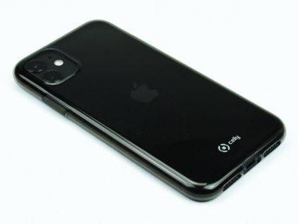 Pouzdro CELLY Gelskin pro Apple iPhone 11 Černé 1
