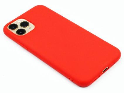 TPU Gumový kryt pro iPhone 11 Pro Červený 1