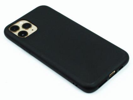 TPU Gumový kryt pro iPhone 11 Pro Max - Černý