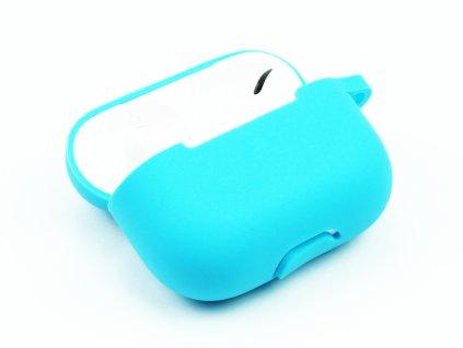 Gumový obal na AirPods Pro Světle modrý 1