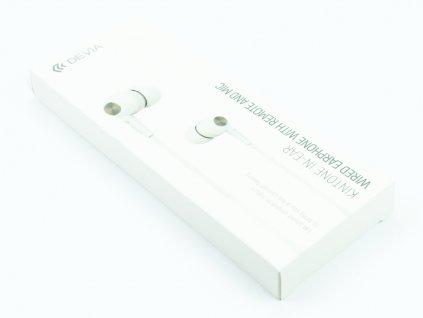 Sluchátka Devia, Kinote pro iPhone, iPad, iPod s 3,5mm jack konektorem Bílá 1