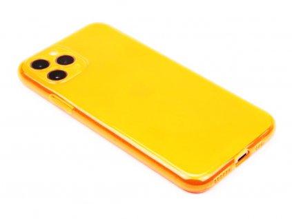 Fluorescentní obal na iPhone 11 Pro Oranžový 1