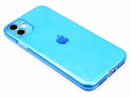 Fluorescentní obal na iPhone 11 Modrý 1