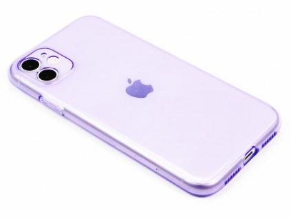 Fluorescentní obal na iPhone 11 Fialový 1