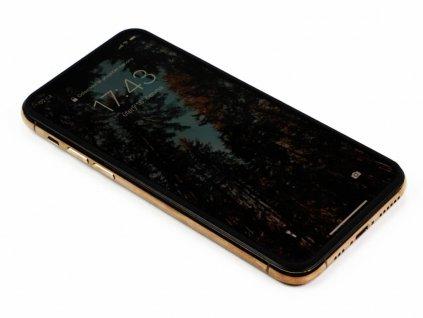 3D Tvrzené sklo na iPhone X,XS,11Pro se silikonovými hranami PREMIUM 8