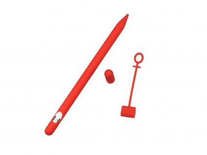 Obal na Apple Pencil Červený