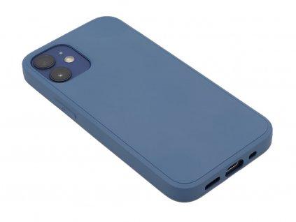 Silikonový kryt na iPhone 12 Mini Modrý 1