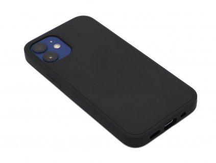 Silikonový kryt na iPhone 12 Mini Černý 1