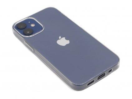Průhledný, gumový kryt na iPhone 12 Mini 1