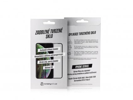 3D tvrzené sklo pro OnePlus 8 Pro - PREMIUM