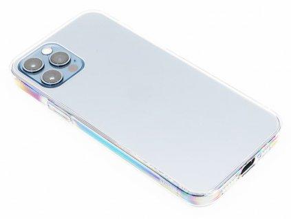 Baseus Frosted Glass ochranný kryt pro iPhone 12 (Pro) Průhledný 1