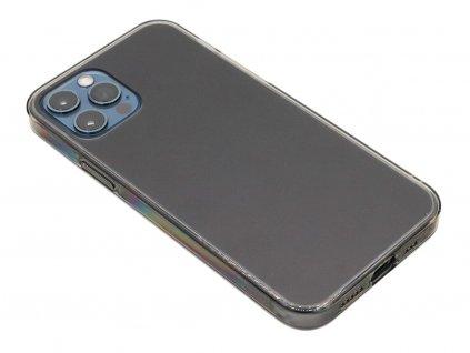Baseus Frosted Glass ochranný kryt pro iPhone 12 (Pro) Černý 1