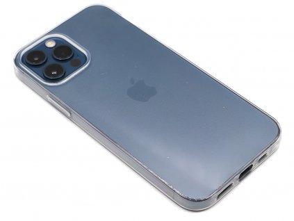 Průhledný gumový obal na iPhone 12 1
