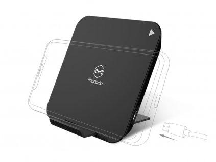 Mcdodo Nebula Series Square Wireless Charger 5W Black 1