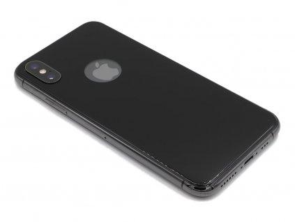 Zadní 3D tvrzené sklo na iPhone X,XS Černé 1