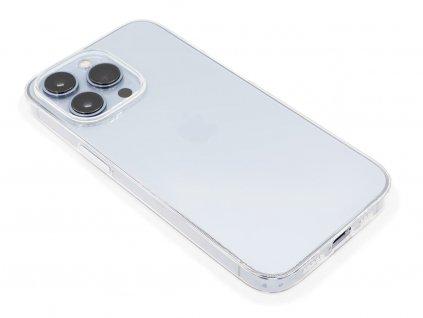 Gumový kryt na iPhone 13 Pro Průhledný 1