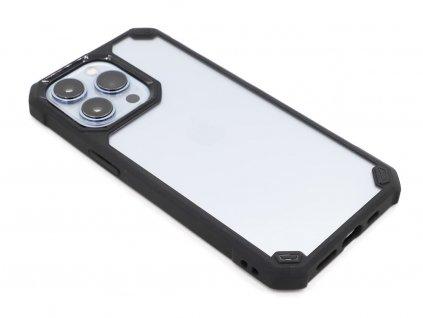 Vysoce odolný Acrylic obal na iPhone 13 Pro Černý 1