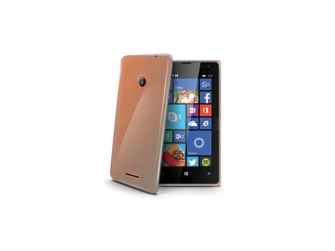 TPU pouzdro CELLY Gelskin pro Microsoft Lumia 435